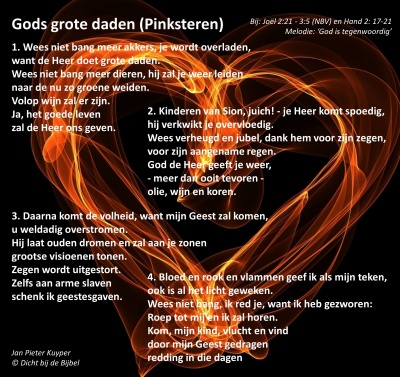 Gods grote daden (Pinksteren)